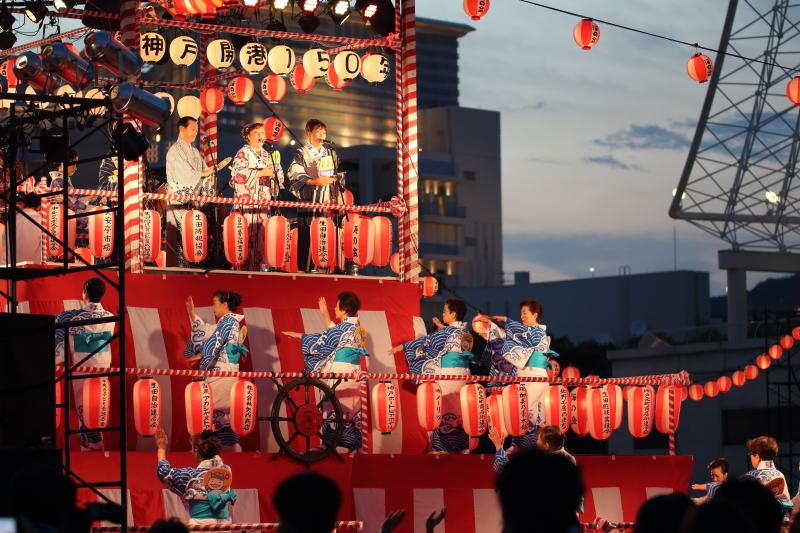 神戸 海の盆踊り