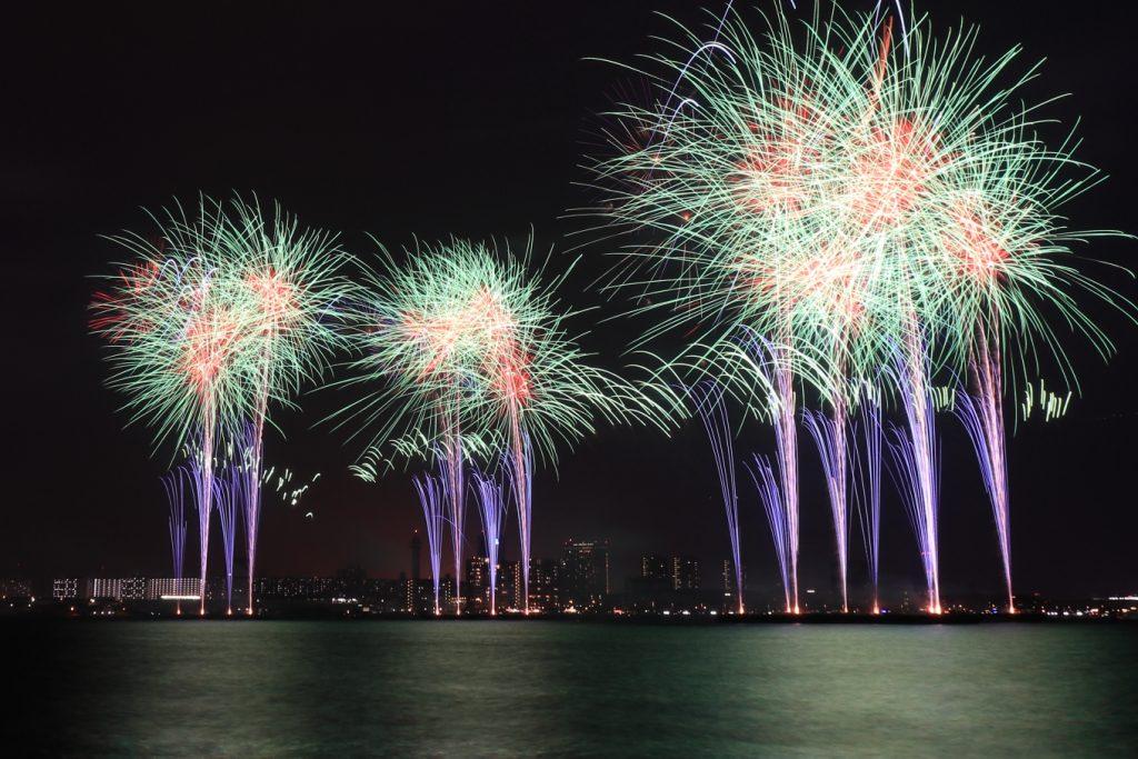 みなとこうべ海上花火大会2017