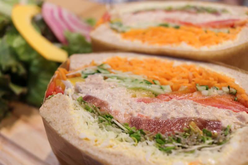 ツナエッグサンドイッチ