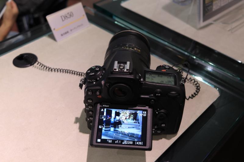 ニコンD850 ライブビュー撮影