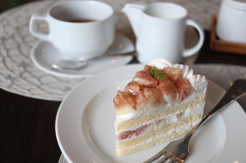 アンプレシヨン いちじくのショートケーキ