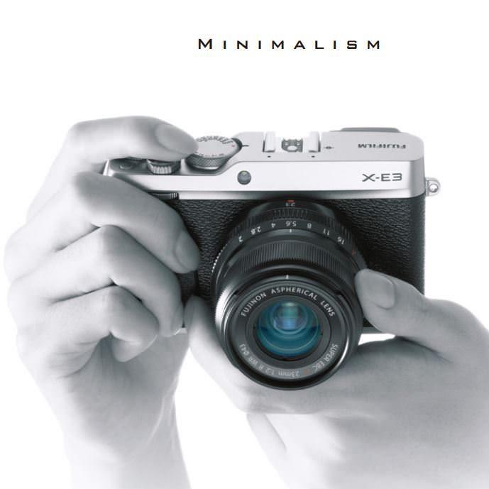 FUJIFILM X-E3 ミニマリズム