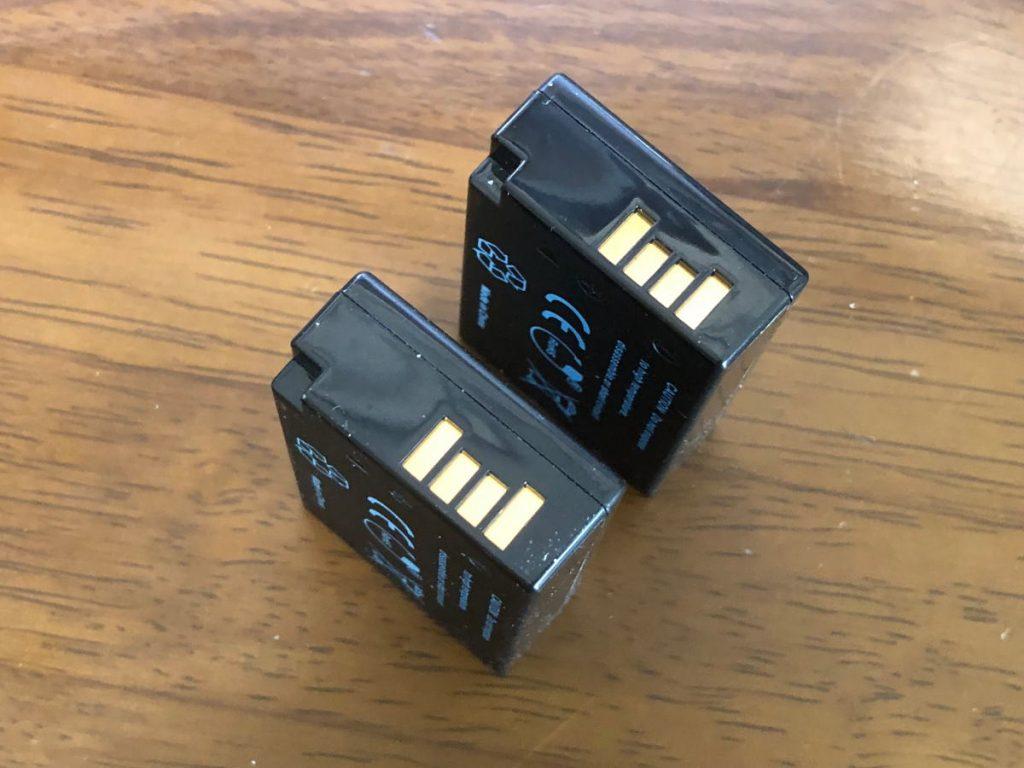 バッテリー側面