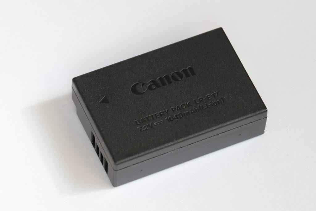 キヤノンLP-E17互換バッテリー紹介