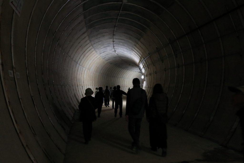 湊川隧道 土木の日 通り抜け