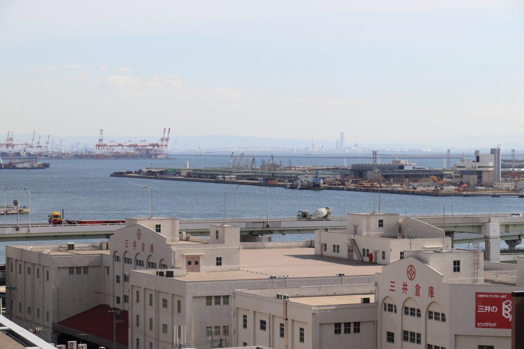 神戸税関 屋上から見る景色