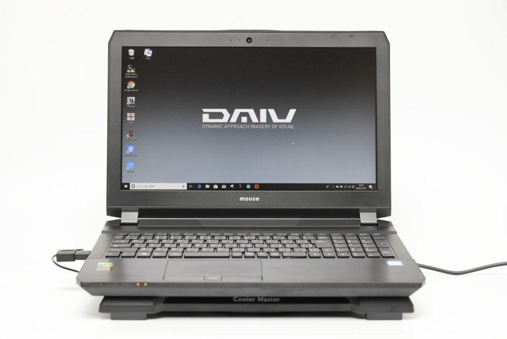 ノートパソコン用クーラー CoolerMaster X-SLIM2とDAIV-NG5720