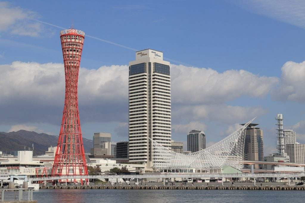 神戸港のポートタワー