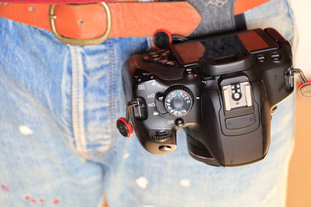 Peak Designの新しいPro Pad 腰ベルトにカメラとパッドを装着