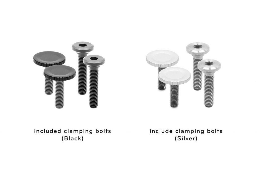 ボルトの比較 ピークデザイン キャプチャーV3