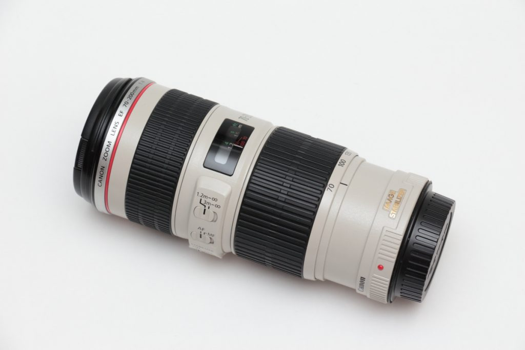 EF70-200 F4L IS USM 外観