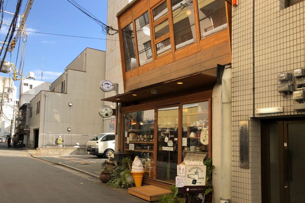 ココシカ 2階建カフェ