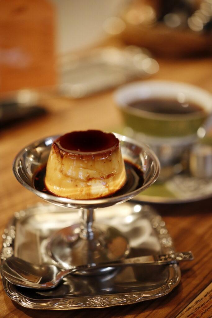 モトマチ喫茶 自家製カスタードプリン