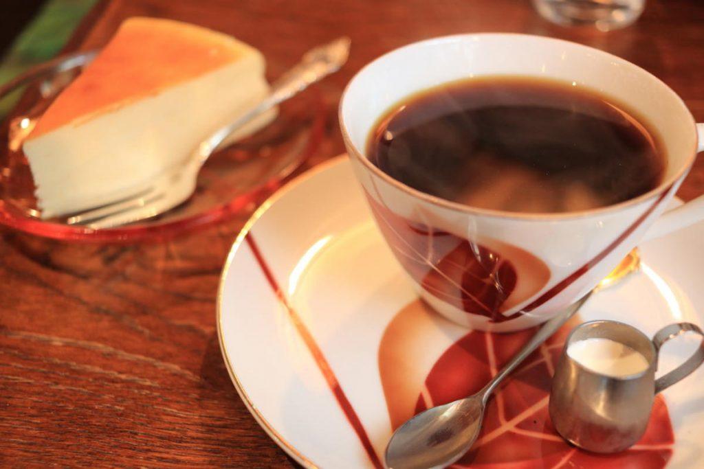 モトマチ喫茶のコーヒー