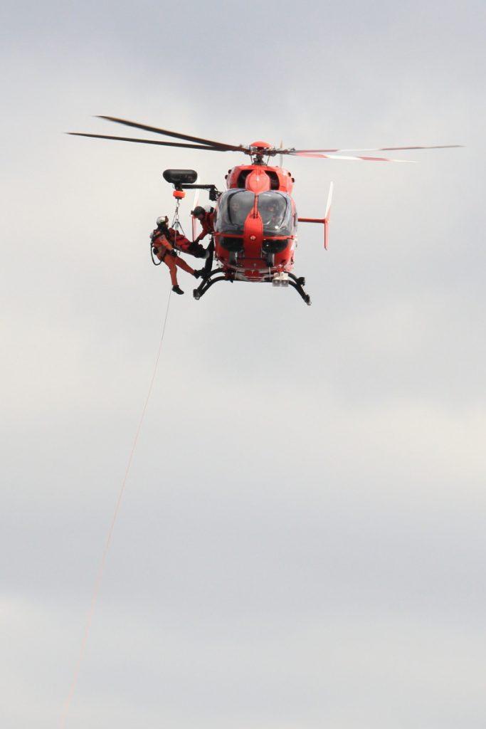 神戸市消防出初式 ヘリ