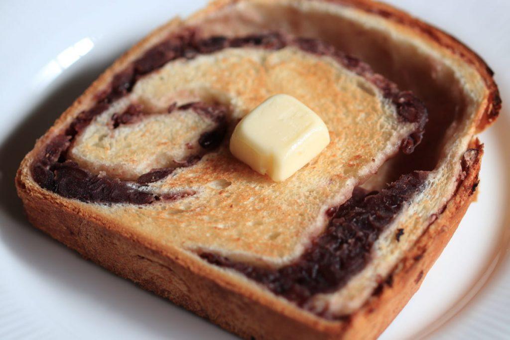 あん食 バタートースト