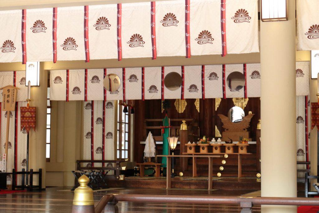 湊川神社 節分 本殿