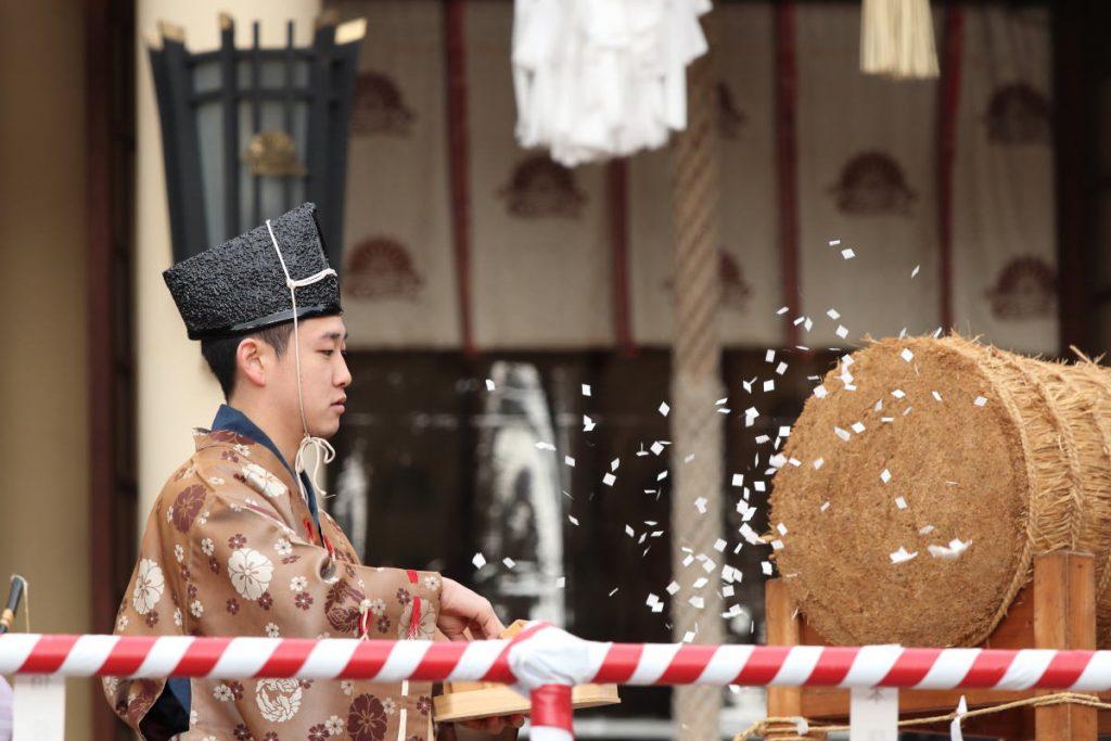 湊川神社 節分神事