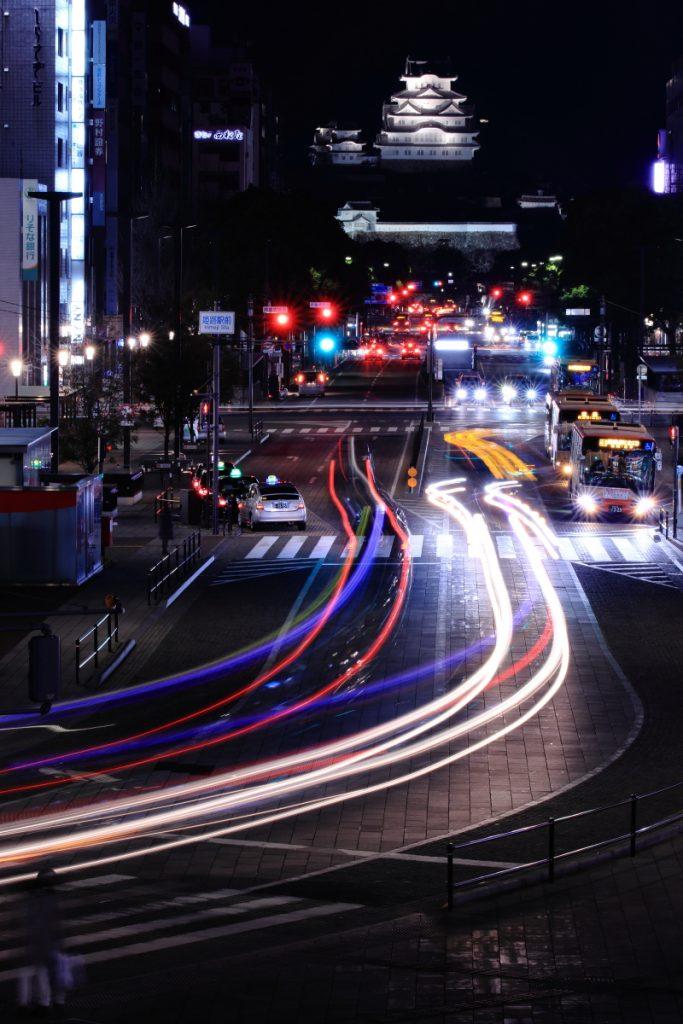 姫路城 夜景