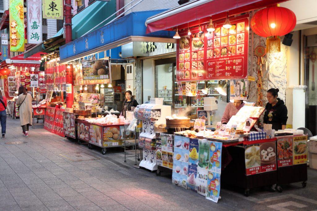 南京町の出店