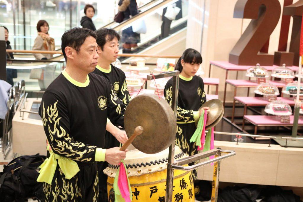 春節祭プレイベント 大丸神戸店