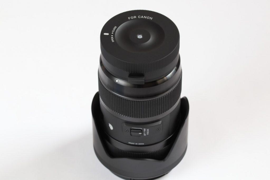 シグマ SIGMA 18-35mm F1.8 DC HSMとSIGMA USB DOCK