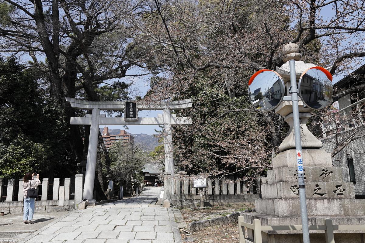 弓弦派神社の桜 2021年3月23日