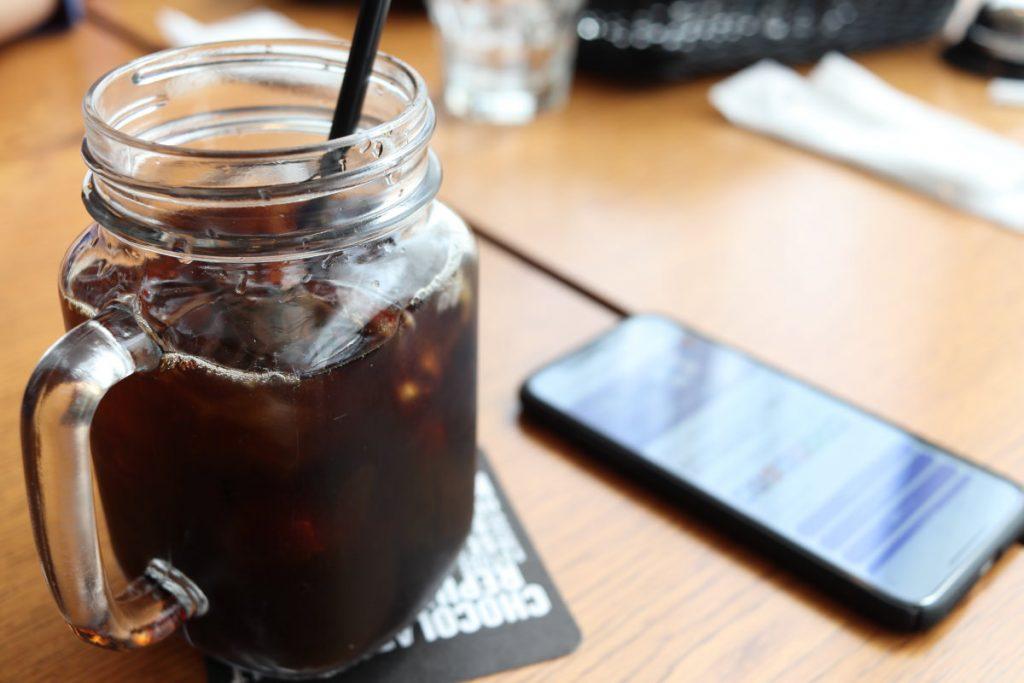 ショコラリパブリック アイスコーヒー