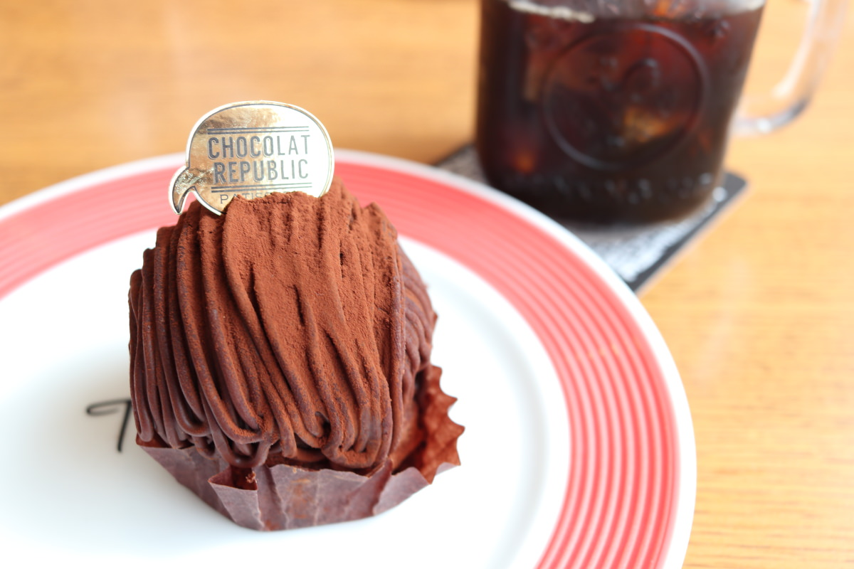 ショコラリパブリックのチョコモンブラン