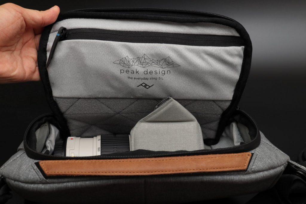 内ポケット エブリデイスリング5L Everyday Sling 5L ピークデザイン PeakDesign 小型カメラバッグ