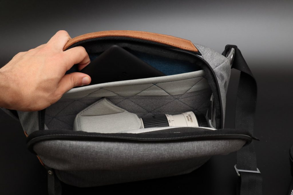 タブレット用ポケット エブリデイスリング5L Everyday Sling 5L ピークデザイン PeakDesign 小型カメラバッグ