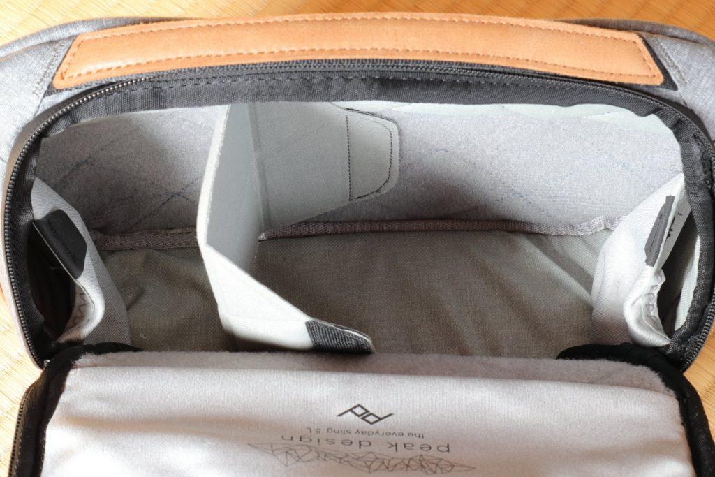 エブリデイスリング5L Everyday Sling 5L ピークデザイン PeakDesign の小型カメラバッグ