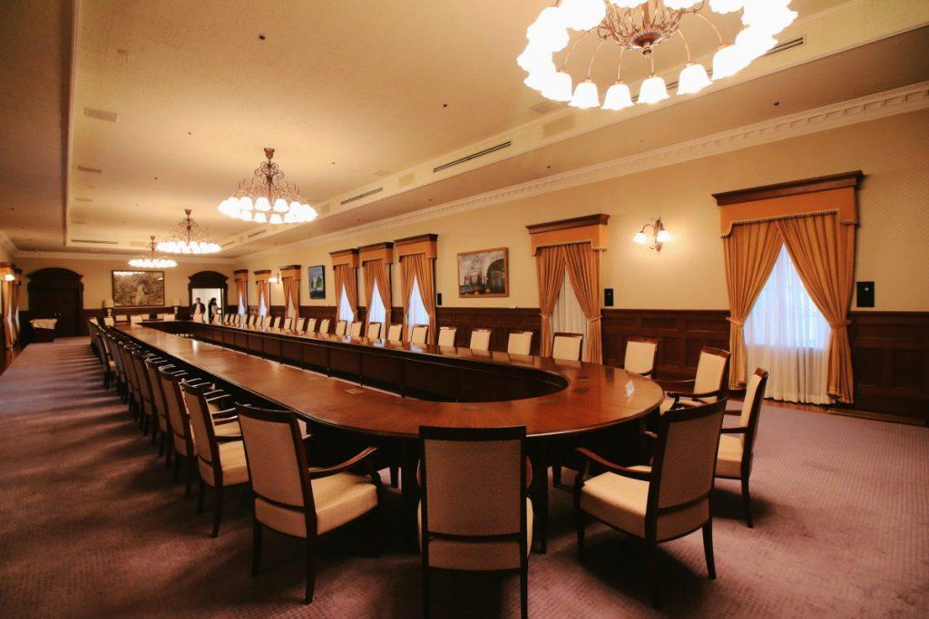 兵庫県公館 会議室