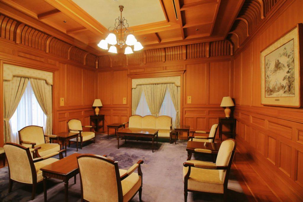兵庫県公館 貴賓室