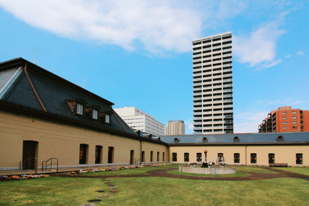 兵庫県公館 屋上庭園