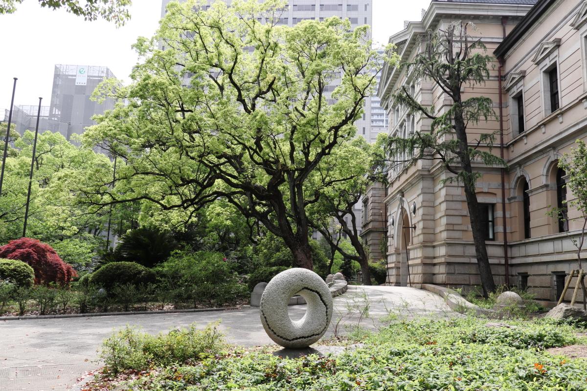 兵庫県公館 花壇