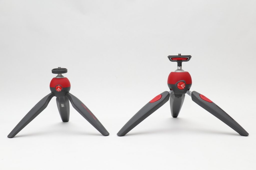 Manfrotto PIXI ミニ三脚 PIXI EVO 比較