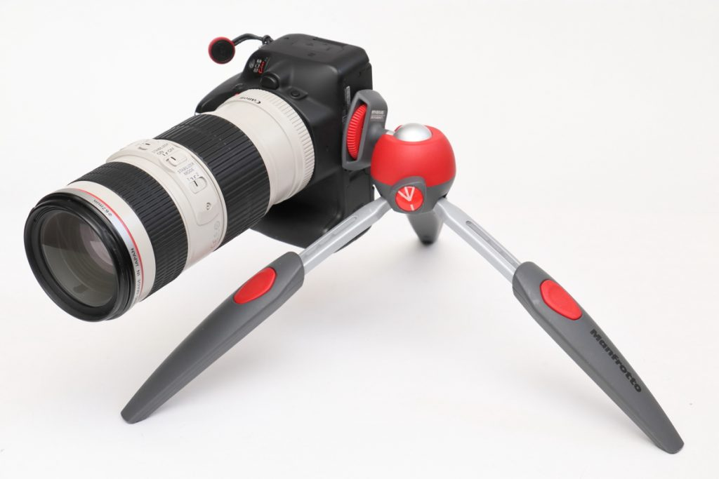 Manfrotto PIXI EVO 縦構図