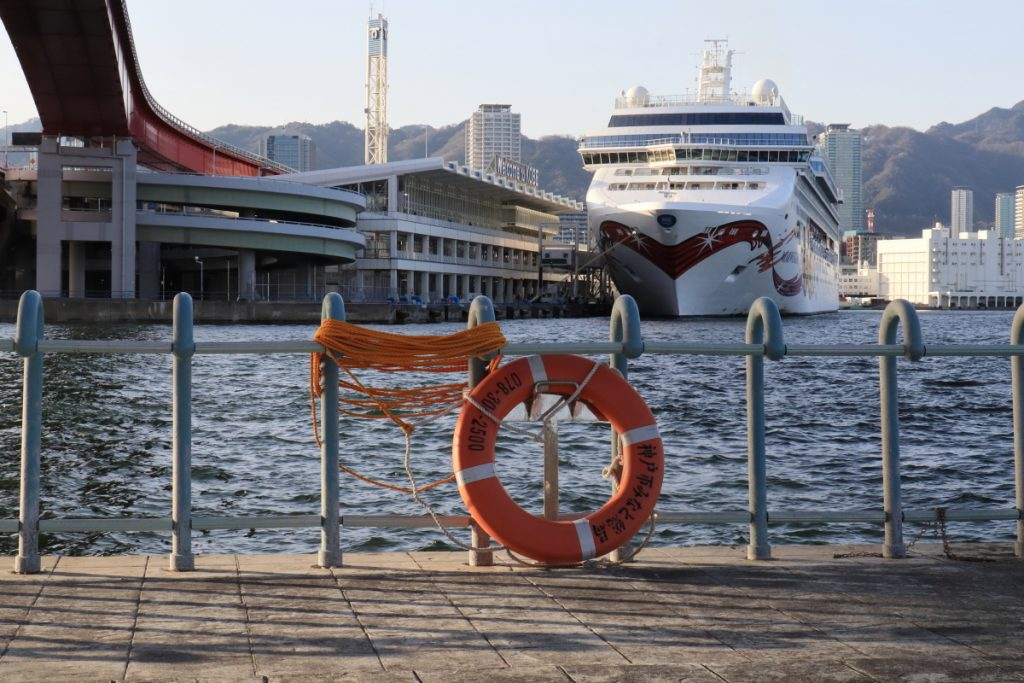 外国客船ノルウェージャン・ジュエル