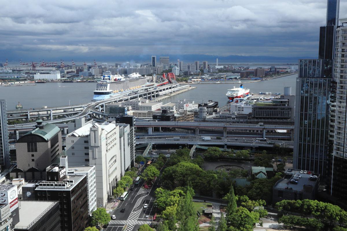 客船クァンタムオブザシーズ QUANTUM OF THE SEAS 神戸