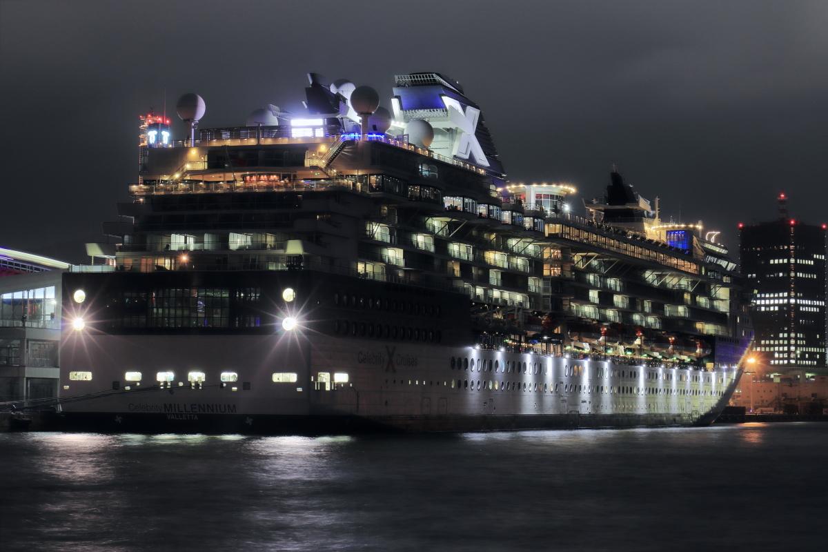 豪華客船セレブリティミレニアム CELEBRITY MILLENNIUM