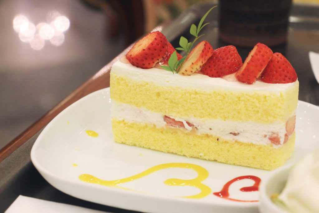 レアルプリンセサ・リカルディーナ磯上邸のショートケーキ