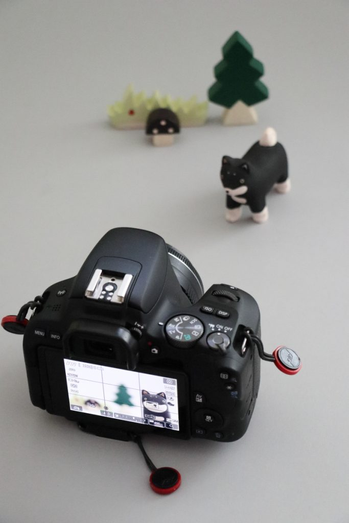 単焦点レンズでの商品撮影風景