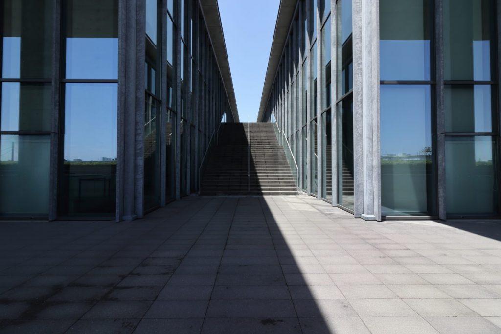 兵庫県立美術館 風のデッキ