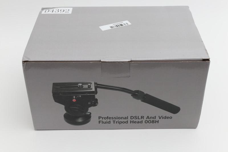 Andoer パノラマ写真ヘッド アクション 流体抗力 油圧ヘッド 液体ヘッド Canon Nikon Sony DSLRカメラ ビデオカメラ 撮影 用 外箱