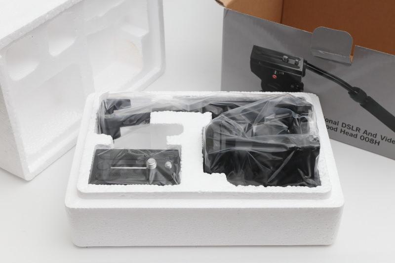 Andoer パノラマ写真ヘッド アクション 流体抗力 油圧ヘッド 液体ヘッド Canon Nikon Sony DSLRカメラ ビデオカメラ 撮影 用 開封