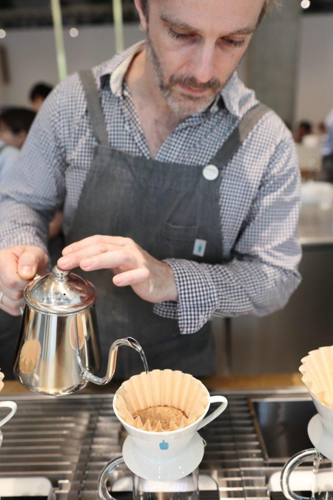 ブルーボトルコーヒーのマイケルさん