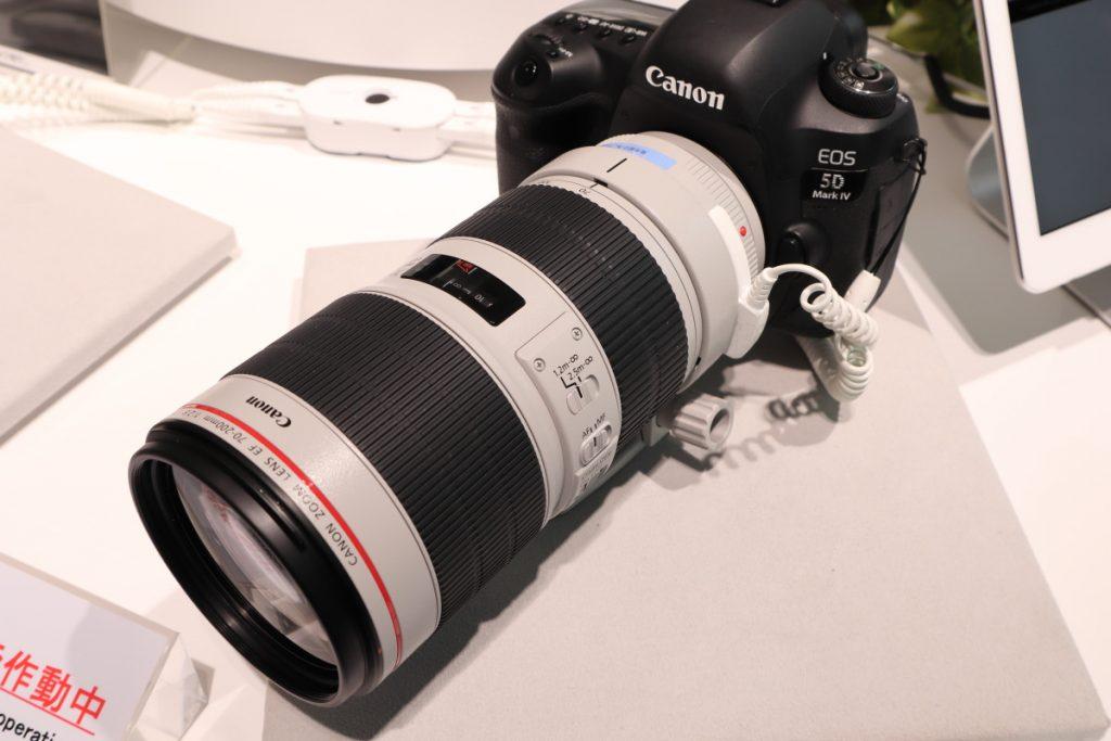 EF70-200mm F2.8L IS USM Ⅲ キヤノンデジタルハウス大阪に先行展示