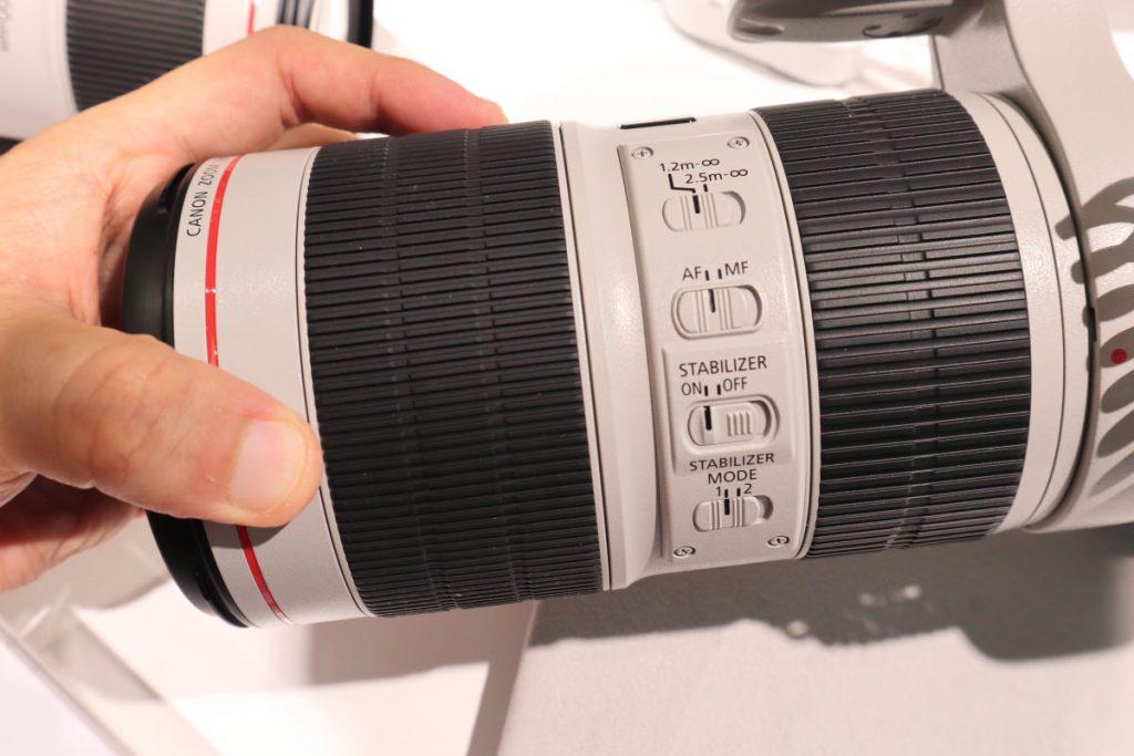 EF70-200mm F2.8L IS USM Ⅲの外観