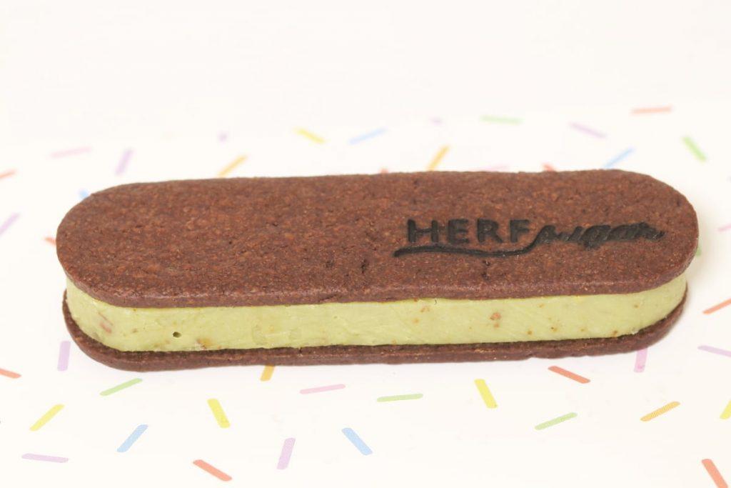 チョコレートサンド ピスタチオ HERF sugar KOBE(ハーフシュガーコウベ)